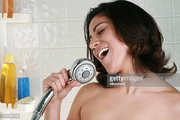 Bathroom Series Singing in Shower
