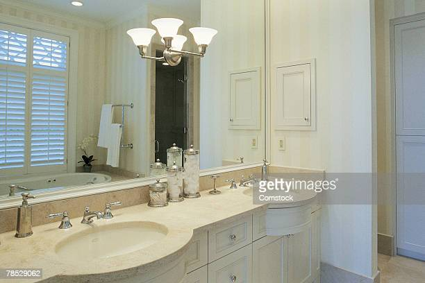 bathroom vanity - vanity stock pictures, royalty-free photos & images