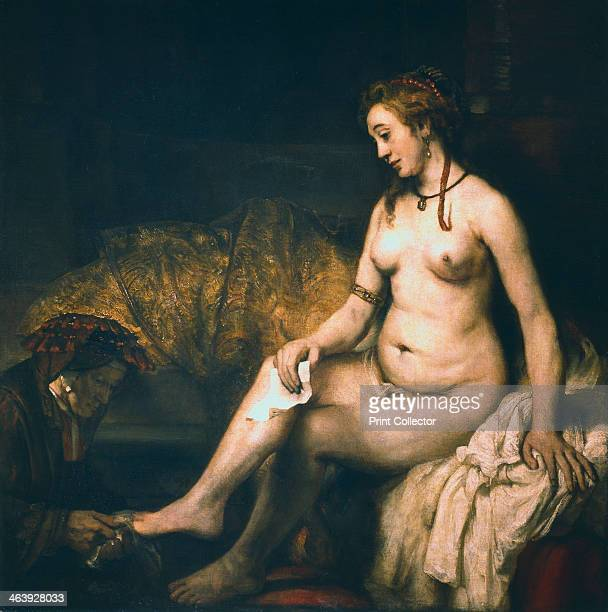 'Bathsheba at her Bath ' 1654 According to the Old Testament Bathsheba was the wife of Uriah She committed adultery with King David of Israel and...