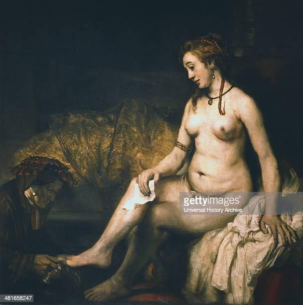 Bathsheba Rembrandt van Rijn Dutch painter Oil on canvas Louvre Paris