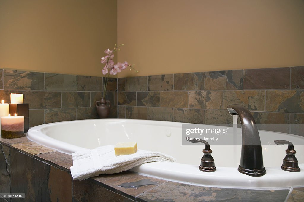 Bathtub : Foto stock