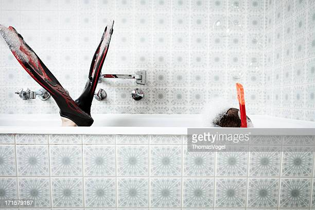 Bathtub Snorkeling