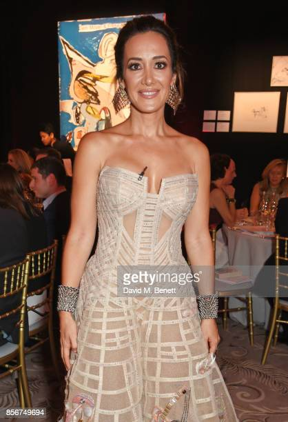 Batia Ofer attends The Art Of Wishes Gala at The Dorchester on October 2 2017 in London England