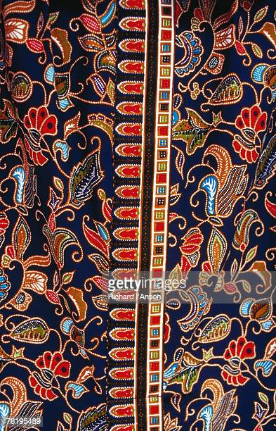 Batik detail, Penang, Malaysia, South-East Asia