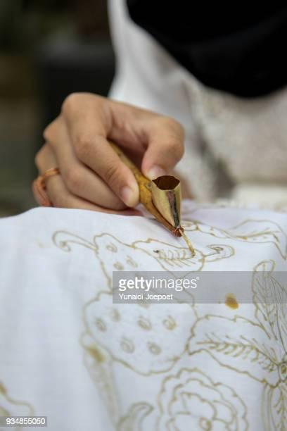 Batik in The Making, Handmade Batik Pacitan - Batik Jav, Indonesia