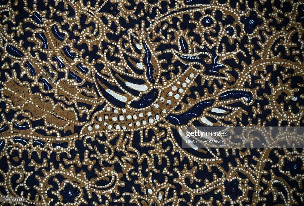 new product 67776 065f2 Batik with traditional design, Java, Indonesia. Detail. News ...