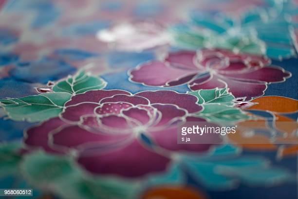batik workarts - batik stock pictures, royalty-free photos & images