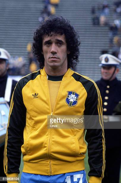 Batista during the match between Brazil and Sweden played at Mar Del Plata Argentina on June 3rd 1978