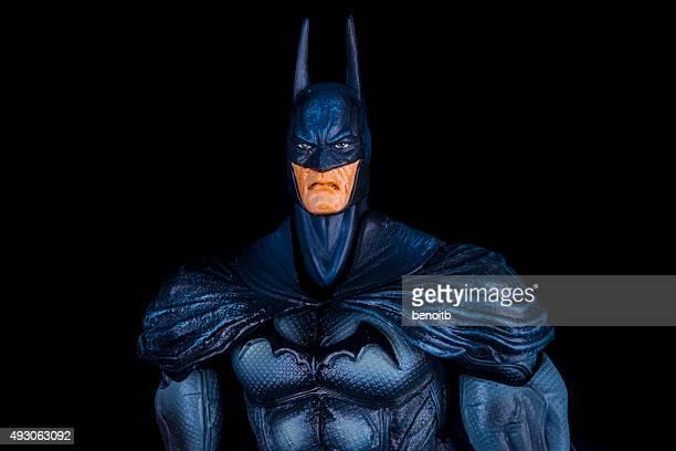 batman guardando serio - batman e robin foto e immagini stock