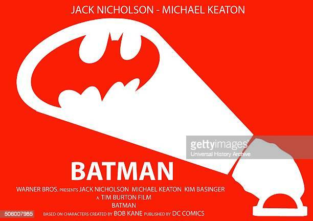 Batman starring Jack Nicholson and Michael Keaton a 1989 film