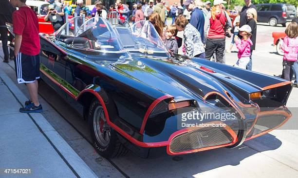 1966 Batmobile On Display At The Chatham-Kent Annual Retrofest