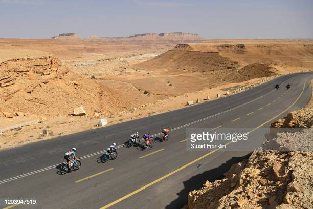 Batmunkh Maral-Erdene of Mongolia and Team Terengganu Inc TSG / Nikodemus Holler of Germany and Team Bike AID / Stephen Bassett of The United States...