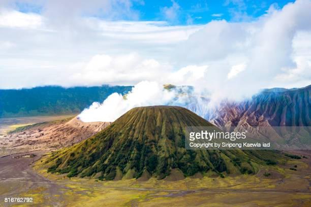 batok and bromo volcanoes, bromo tengger semeru national park, indonesia. - copyright by siripong kaewla iad stock photos and pictures