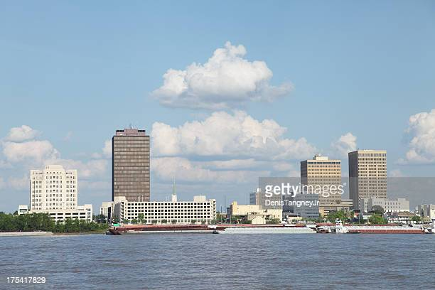baton rouge on the mississippi river - baton rouge stock pictures, royalty-free photos & images