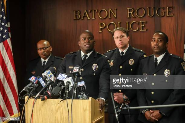 Baton Rouge Police Chief Murphy Paul announces the disciplinary decision on the officers who shot Alton Sterling in 2016 at the Baton Rouge Police...