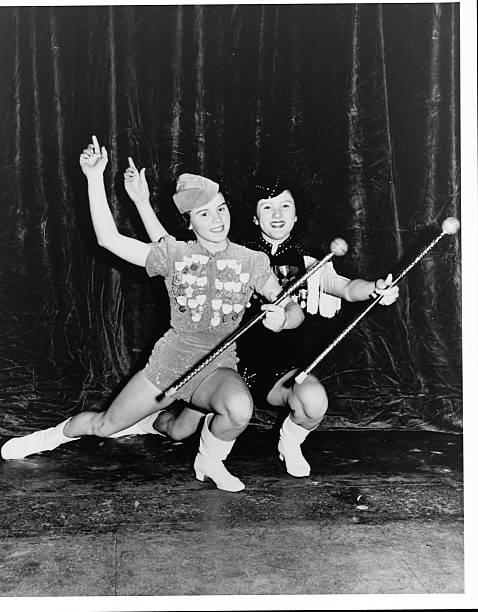 Baton Twirlers at Winter Carnival