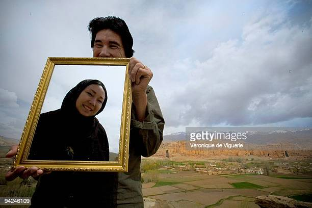 Batool Mohammadi and her husband Mahdy Mehraeen are both Shia Hazara Muslims who are opposed to Shia law and are seen here posing with the Bamiyan...