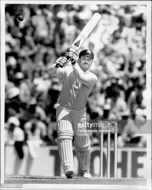 Bats In The Aira century to Dean Jones but no such luck for skipper Allan Boarder who saw Australia finish the day at 7236 January 10 1987