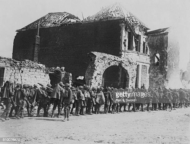 Battalion of troops at Arras France