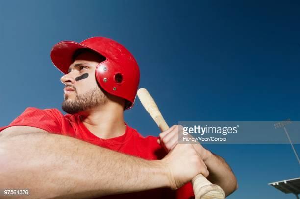 Batter awaiting pitch