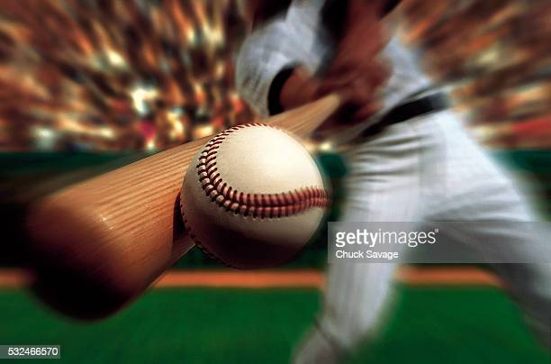 batter hitting homerun - home run stock pictures, royalty-free photos & images