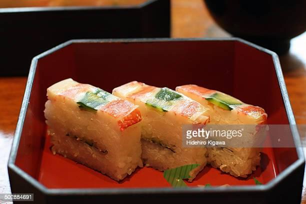 Battera Sushi with Crab