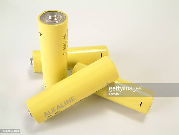 batteries, aa 1 - alkaline stock pictures, royalty-free photos & images