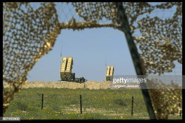 Batteries of Patriot missiles have been deployed in the event of a Scud attack