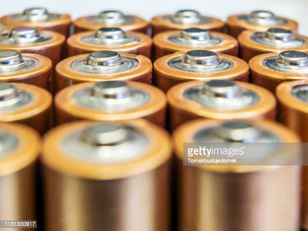 batteries - ausrüstung und geräte stock pictures, royalty-free photos & images