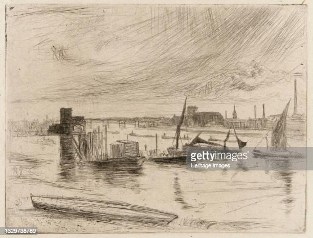 Battersea Dawn , 1861. Artist James Abbott McNeill Whistler.