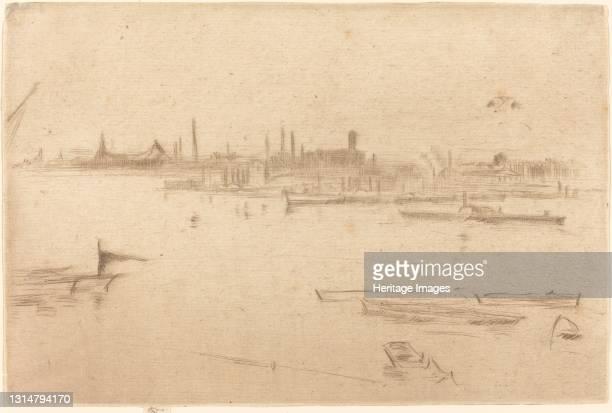 Dawn, 1875. Artist James Abbott McNeill Whistler.