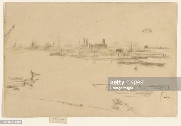Battersea Morn, 1875. Artist James Abbott McNeill Whistler.