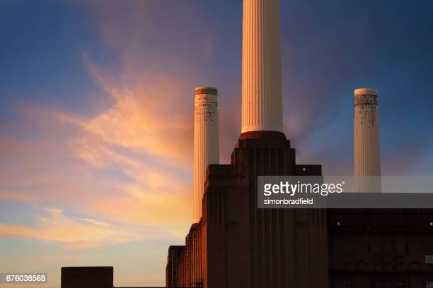 Battersea Power Station At Dawn, Composite