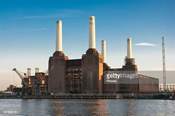battersea power station - battersea stock pictures, royalty-free photos & images