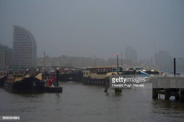Battersea Reach  Under The Fog
