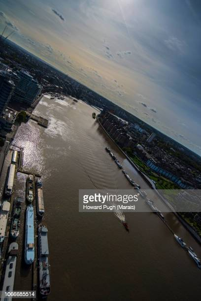 Battersea Upon Thames by Aerial View