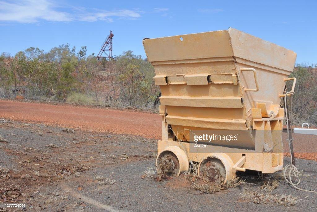 Battery Hill Mining in Tennant Creek Northern Territory Australia. : News Photo