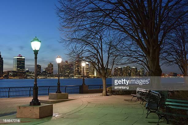 Battery Park at Night