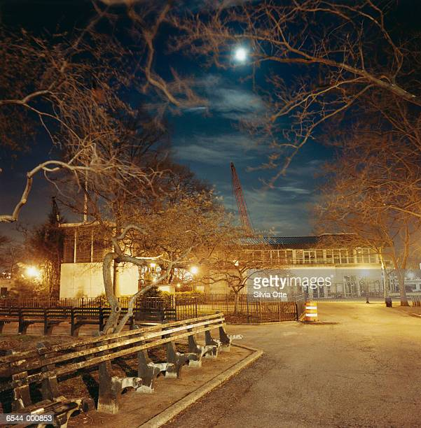 Battery Park at Night