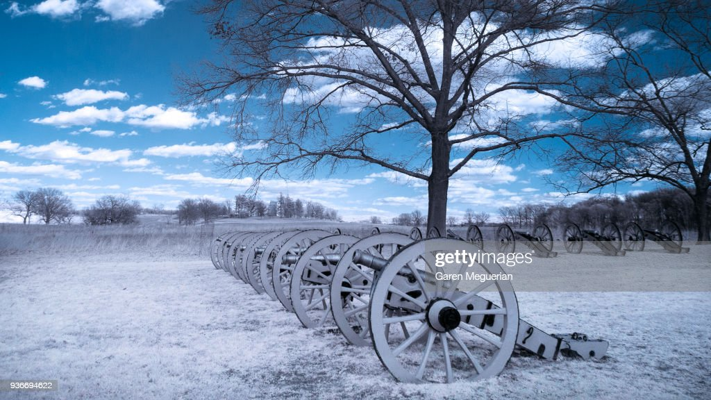 Battery Park in Valley Forge : Stock Photo
