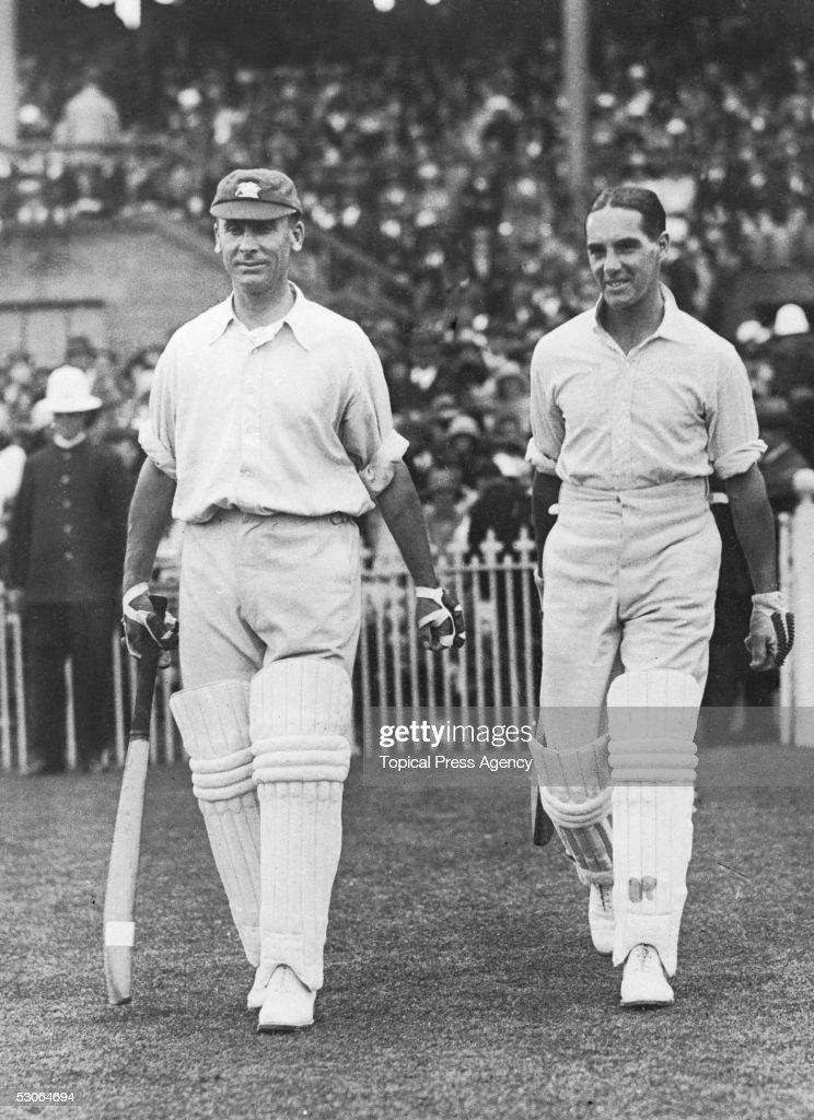 Hobbs And Sutcliffe : News Photo