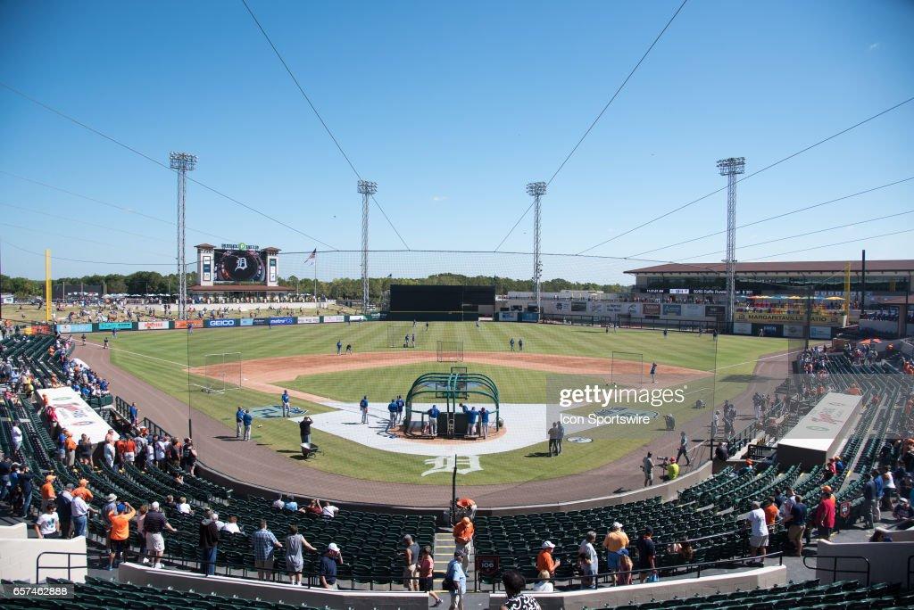 MLB: MAR 20 Spring Training - Mets at Tigers : News Photo