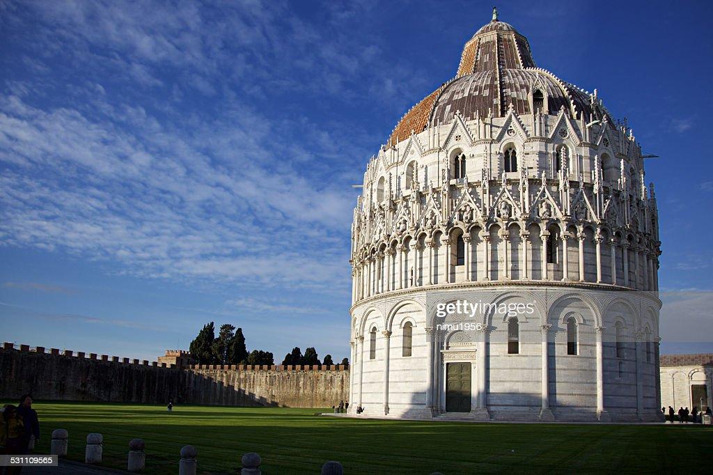 Battistero Di San Giovanni Piazza Dei Miracoli Pisa Italy ...