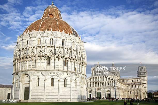 Battistero di San Giovanni. Piazza dei Miracoli. Pisa. Italy.