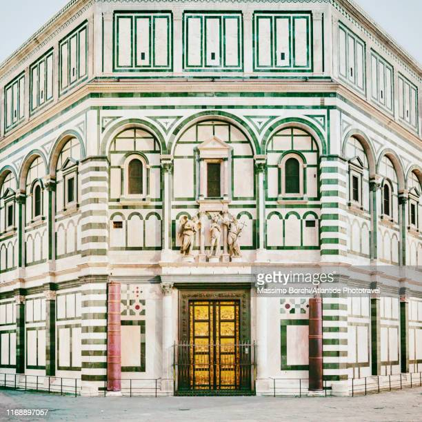 battistero (baptistery) di san giovanni - image stock pictures, royalty-free photos & images