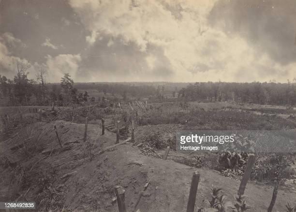Battle Field of Atlanta, Georgia, July 22nd 1864 No. 2, 1860s. Artist George N. Barnard.