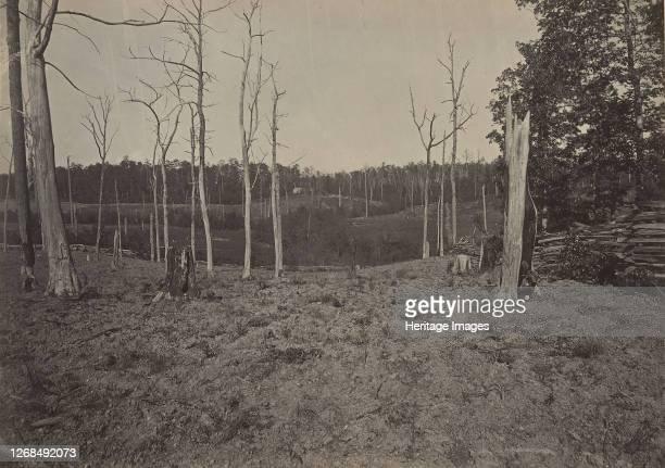 Battle Ground of Resacca, Georgia No. 1, 1860s. Artist George N. Barnard.