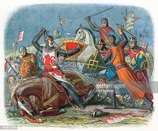 Battle of Alnwick Northumberland Victorian depiction of the capture of William I of Scotland 'The Lion' by the English William inherited the Earldom...