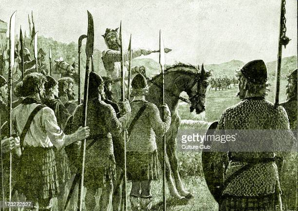 Battle of Bannockburn Robert the Bruce reviewing his troops before battle 24 June 1314 Significant Scottish victory in the Wars of Scottish...