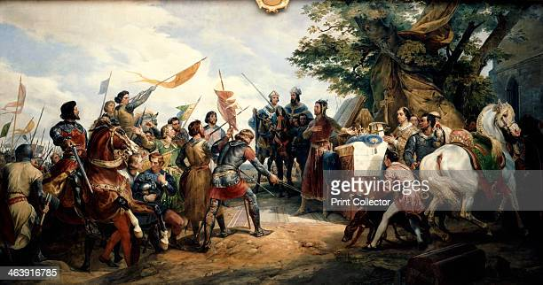 'Battle of Bouvines' 27 July 1214 The battle was a victory for the French King Philip Augustus against the allied troops of England Flanders and the...